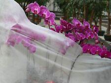 Garden Fleece Lightweight 18gsm 2m Wide Frost Flower & Veg Protection