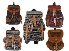 Rucksack Stoff Bunt Backpack Stoffrucksack Modisch Vintage Outdoor Freizeit NEU