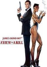007 James Bond una vista a un matar Rodger Moore cartel Impresión Foto Póster de A3 A4
