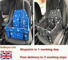 Dog Car Seat Booster - Foldable & Seat Belt