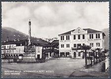 BIELLA SAGLIANO MICCA 08 ASILO - MONUMENTO Cartolina FOTOGRAFICA