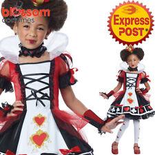 CK908 Deluxe Queen of Hearts Alice in Wonderland Book Week Girls Dress Costume