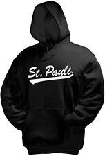 ST. PAULI Kapuzenpullover, schwarz