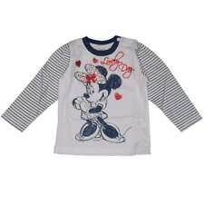 Maglia neonata Disney Minnie bianca