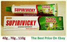 SUPIRIVICKY Ayurvedic Herbal Non Fluoridated Siddhalepa Toothpaste Supiriviki.