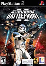 Playstation 2 PS2 Star Wars: Battlefront II 2*COMPLETE*Battle front