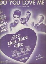 Sheet Music Do You Love Me Maureen O'Hara 1946