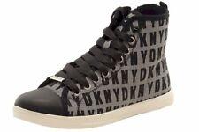 Donna Karan DKNY Women's Brave Logo White/Black Fashion Sneakers Shoes