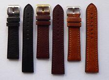 Vitello di bufalo grana cinturino nero/marrone/Tan 18MM-24MM - per Panerai/U Boat/TW Steel