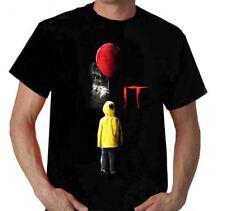 t shirt Clown It 2017 Stephen King t-shirt film GEORGIE scary poster locandina