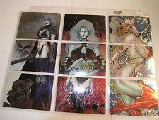All 12 Lady Death Sets 1,2,3,4, Mega, Dark, Holo, Love, Night, Medievil, Pre