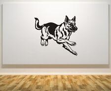Pastor Alemán Perro Mascota Animal Puerta De Pared Arte Calcomanía Adhesivo Cartel de imagen