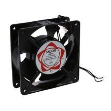 AC 220-240V 0.14A 120mmx120mm Metal Computer CPU Fan Black H3X4