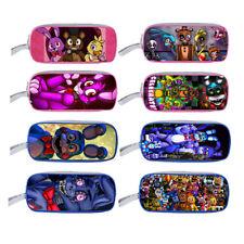 "FNAF Five Nights at Freddy's Double-deck Bag Student School Pencil case 9.5"" L"