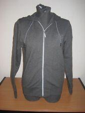 Adidas F Night ZIP Hood Kapuzenjacke Hoodie Hoody Damen grau Oberteil NEU O58399