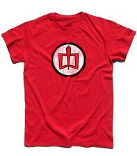 T-shirt uomo RALPH SUPERMAXIEROE The Greatest American Hero Henley anni 80