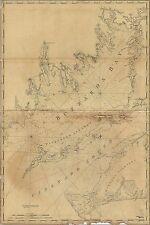 Poster, Many Sizes; Map Of Buzzards Bay Marthas Vineyard Sound 1776