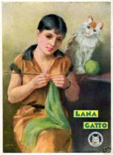 A.Bianchi-LANA GATTO-Tollegno -filati-gomitolo-cucito