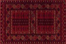 Kashqai 4346/300 QUALITY Red Rust Nomadic Tribal Design Rug Runner Wool
