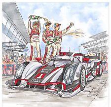 Coche de carreras de fórmula 1, Salón tarjetas para cualquier otra ocasión