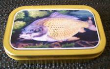 Carp Fishing 1 and 2oz Tobacco/Storage Tin