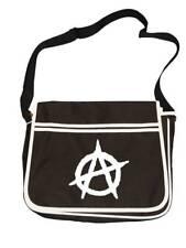ANARCHY Symbol- Anti establishment icon Retro Messenger Men's Shoulder Bag