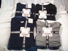 Joe Boxer Men's Pajama Slubbed Shirt & Fleece Pants SIZE SMALL, MEDIUM, & LARGE