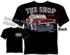 57 Chevy Gasser T Shirt 1957 Chevrolet Tee Vintage Drag Racing Clothing Classic
