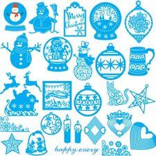 Christmas Snowman Metal Cutting Dies Stencils Scrapbooking Embossing DIY Crafts
