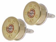 12 Gauge Shotgun Shell CARTUCCIA Cap Clay/Gioco Tiro Da Uomo Regalo Gemelli