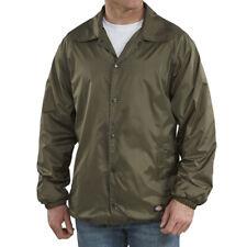 5963ed252b6e Dickies Snap Front Lined Windbreaker Men's Nylon Jacket Grape Leaf Style  #76242