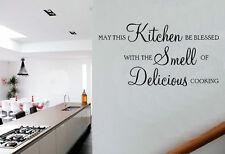 Possa Questo Cucina Essere Benedetto Delizioso Cucinare Citazione