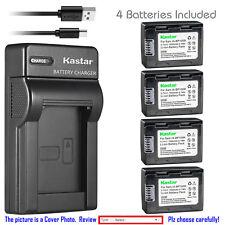 Kastar Battery Slim Charger for Samsung IA-BP105R IA-BP210R & Samsung HMX-F90