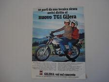 advertising Pubblicità 1978 MOTO GILERA 125 TG1 TG 1