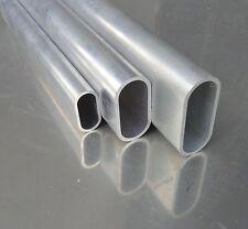 Aluminium Ovalrohr AlMgSi0,5 160x80x3mm (BreitexHöhexStärke) Länge wählbar