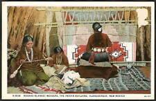 Photo Pc Albuquerque Nm ~ Navaho Indian Blanket Weavers