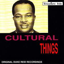 CULTURAL THINGS - CD - Duke Reid Artists - SAMPLER