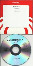 BROKEN BELLS Vaporize RARE TST PRESS PROMO DJ CD Single
