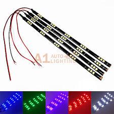"""4x NEW 12""""/30cm Flexible LED Strips 15-SMD 5050 Waterproof Car Truck Motor"""