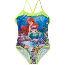 Disney Princess The Little Mermaid Ariel One Piece Swimsuit Girl Size 6/6X 7/8