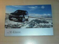 25376) Mercedes M-Klasse Prospekt 2007