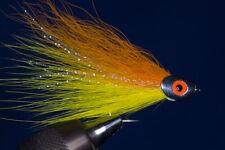 Fliegentom - Streamer für Hecht und Raubfische - Bucktailfischchen Nr. 4
