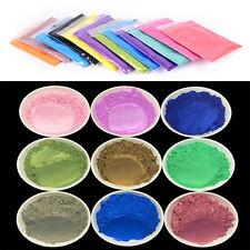 10g DIY Mineral Mica Powder Soap Dye Glittering Soap Colorant Pearl Powder HU