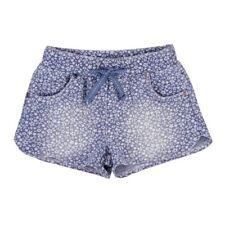 Niñas Shorts con florecitas azul von BOBOLI TALLA 98 104 110 116 128 140 152 164