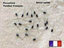 Condensateur chimique Radial 100uF/6,3V 105°C . Lot au choix. Neufs !! 10-2