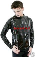 shirt maglia pvc dark gothic goth punk rock emo