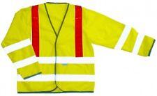 Step Ahead Hi Vis Visibility Viz Long Sleeve Security Safety Vest With Red Brace