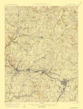 Topographical Map Print - Greensburg Pennsylvania Quad - USGS 1906 - 17 x 22.31