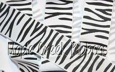 Zebra Print Grosgrain Ribbon 1 yard (3 ft of Zebra Grosgrain Ribbon) Assort Size