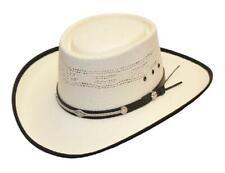 Bangora Straw Western Cowboy Gambler Hat